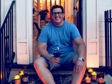 Adam Fetsch, creator of Rewind Candles