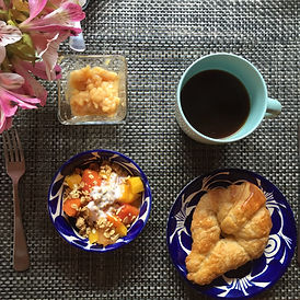 Breakfast at La Betulia Oaxaca