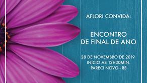 28/11: ENCONTRO DE FINAL DE ANO!