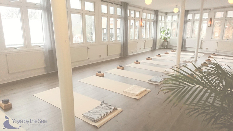 Yoga by the Sea - Opening day