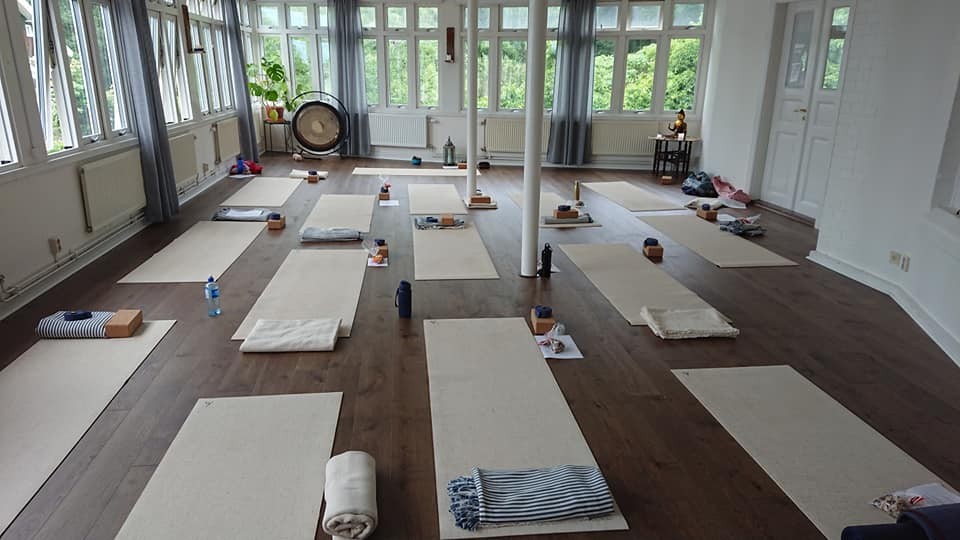 Yoga nature retreat - studio is ready
