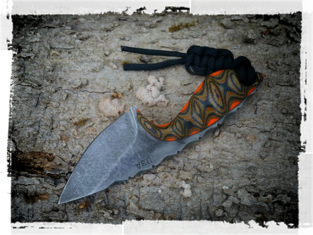COVERT Series Neck Knife