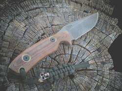 Custom Tactical Knife by DEBAUD BLAD