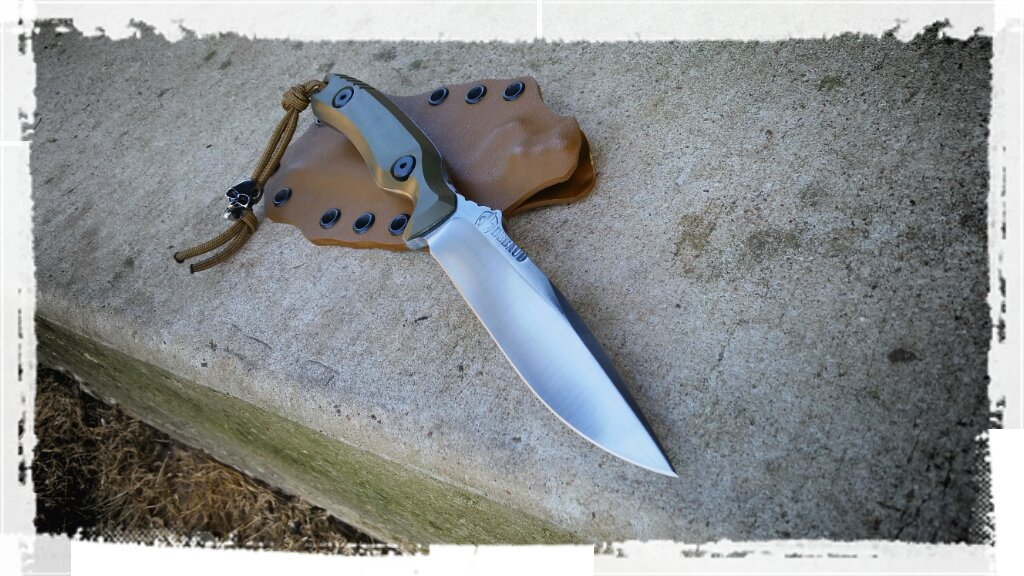 Spectre boot knife with OD G10