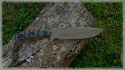 Custom Defender Knife with KG Kote