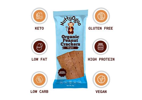 Original Organic Peanut Crackers 15 x 25g