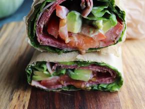 """Lettuce wrap sandwich """"the Unwich"""""""