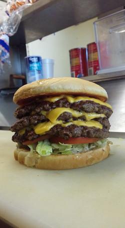 Triple Texas Burger
