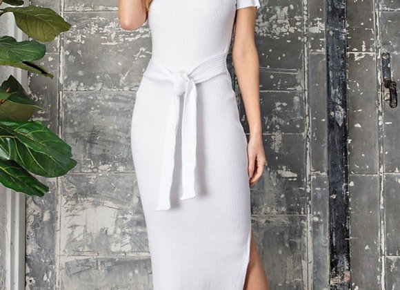 Eggshell Knit Dress