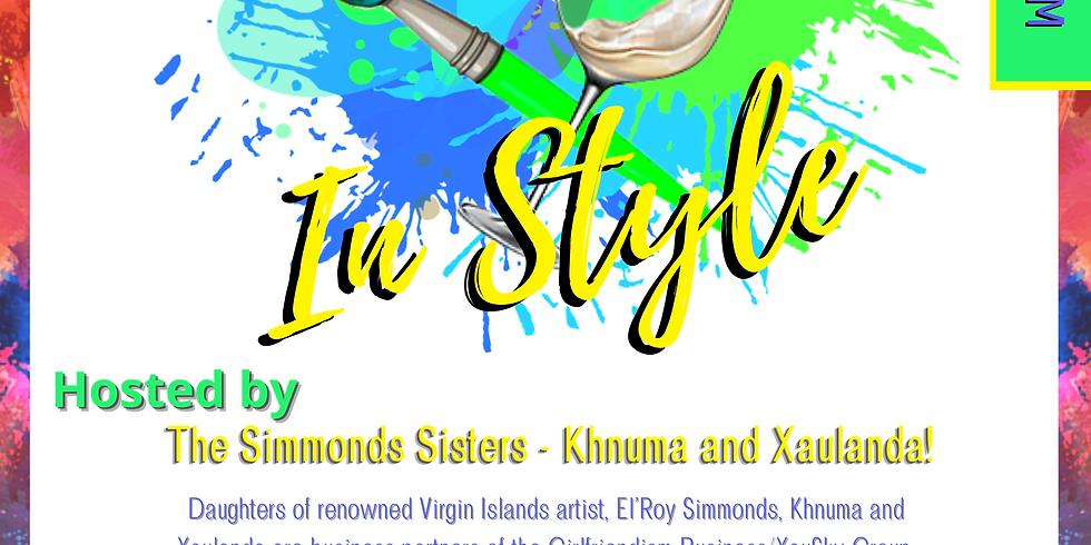 Sip & Stroke in Style!