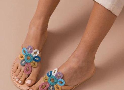 Funzi Leather Sandal