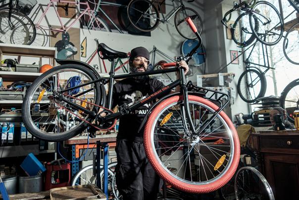 Nooit meer naar de fietsenmaker: aan deze fiets kan niets kapot
