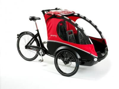 Winther | Kangaroo Lite | one of the nimblest cargo bikes