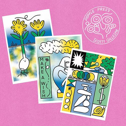 Scotty Gillespie A4 Art Prints