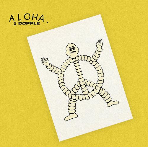 ALOHA PROJECTS A3 Risograph Print