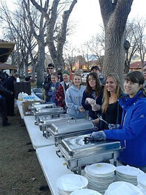 Feeding the homless of Colorado Springs