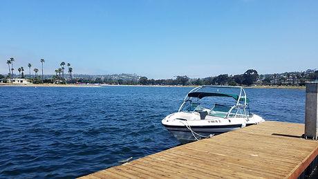 Boat on Mission Bay