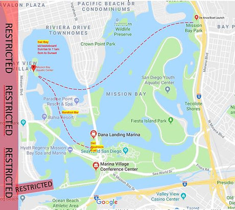 Map of Mission Bay