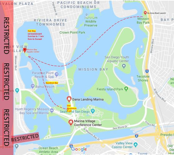Boat Drop Off & Pick Up Location