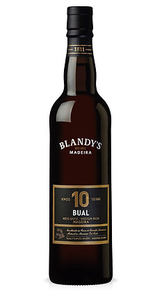 Blandy's Madeira 10 years, Bual, Medium Rich