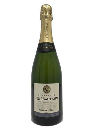 Lete-Vautrain, Millesime, Champagne, 2012