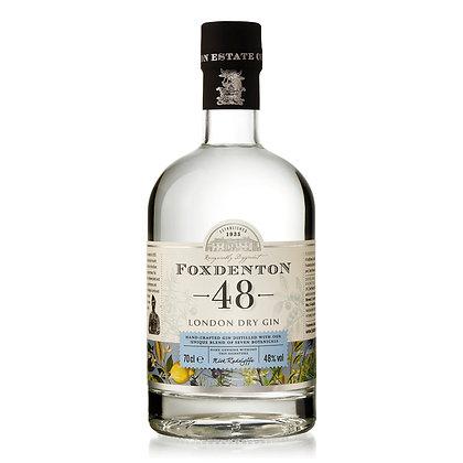 Foxdenton London Dry Gin 48% (70cl)