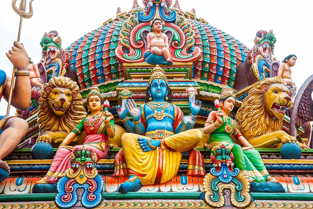Intia on monen ykköskohde joogalomalle.