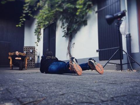 Fotoshooting mit Stefan Weissmann