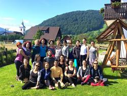 Yoga teachers retreat