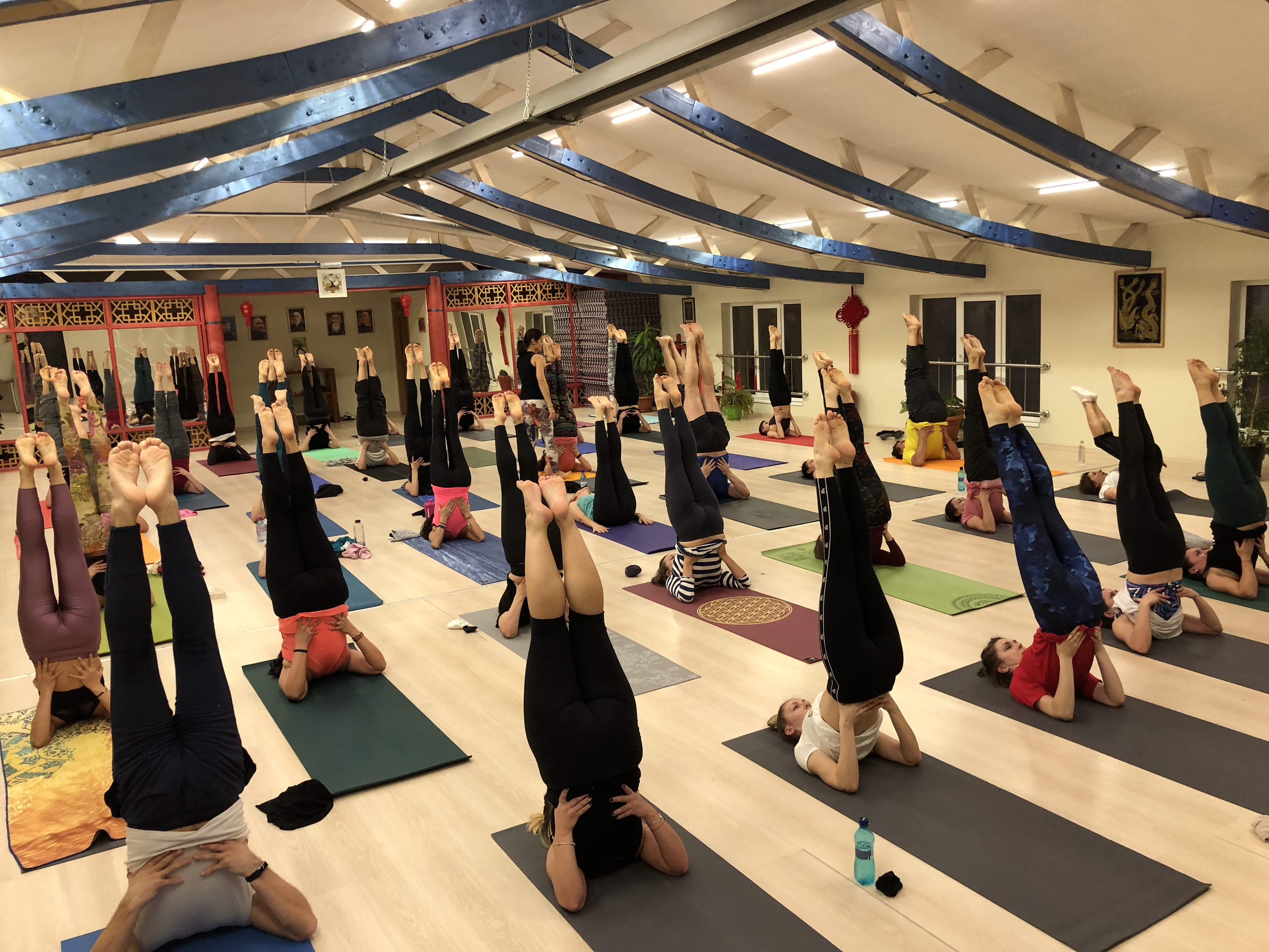 Yoga in romania
