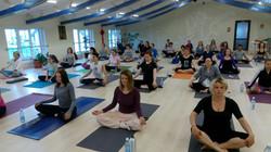 Cluj, Meditation class