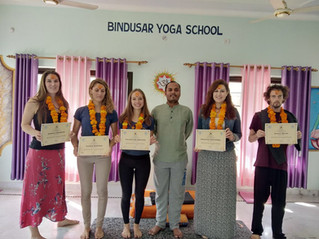 Yoga teacher's training in India or do at home with Indian school
