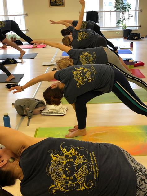 Yoga course in Cluj