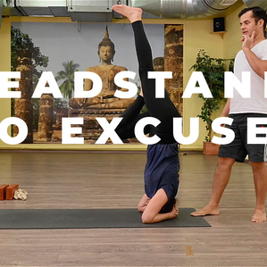 Headstand for beginners and why it's must