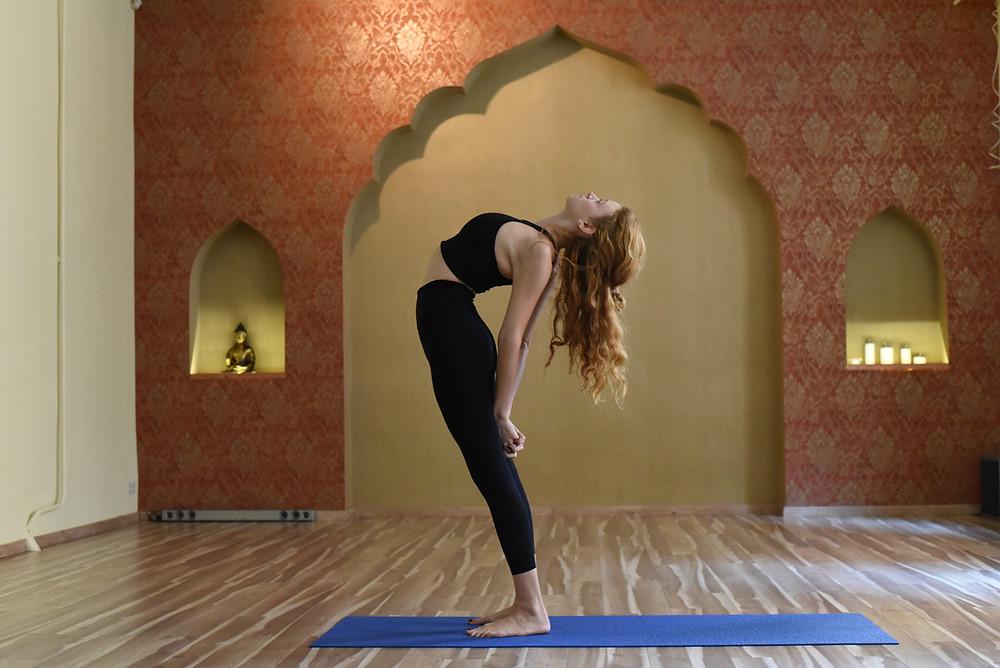 Flora Timar, Yoga teacher
