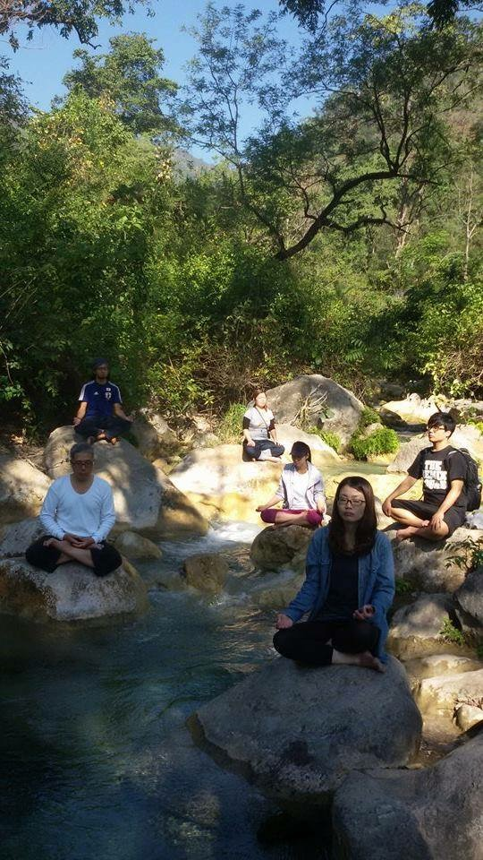 Meditation in nature
