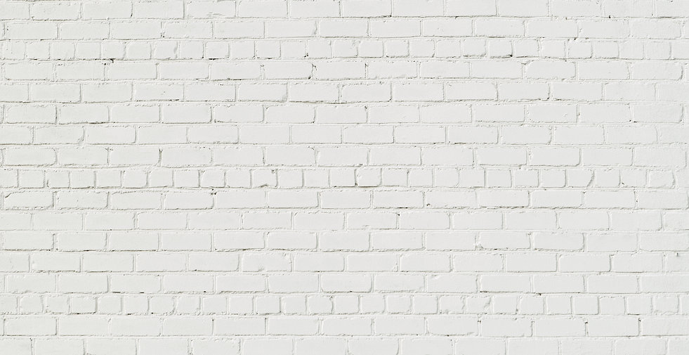 Panoramic White Brick Wall. Abstract Bri