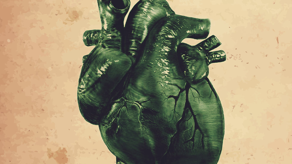 Green Heart Poster Design