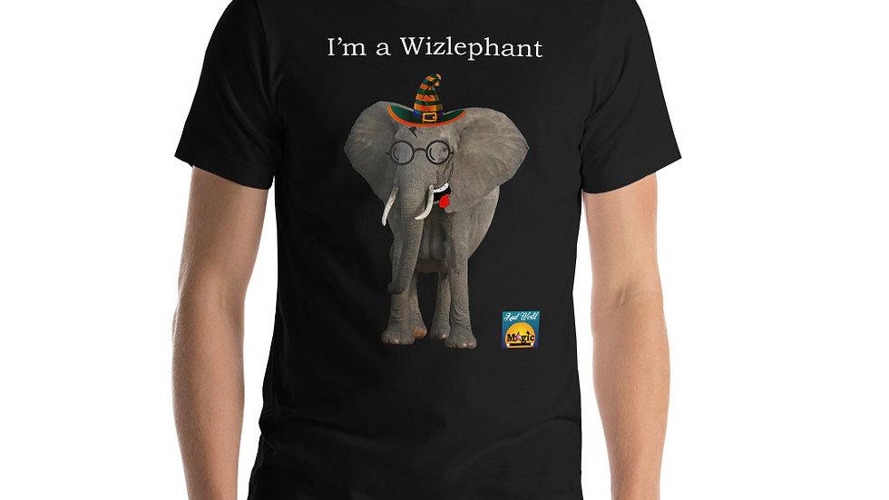 I'm a wizlephant tshirt - Frank the Elephants