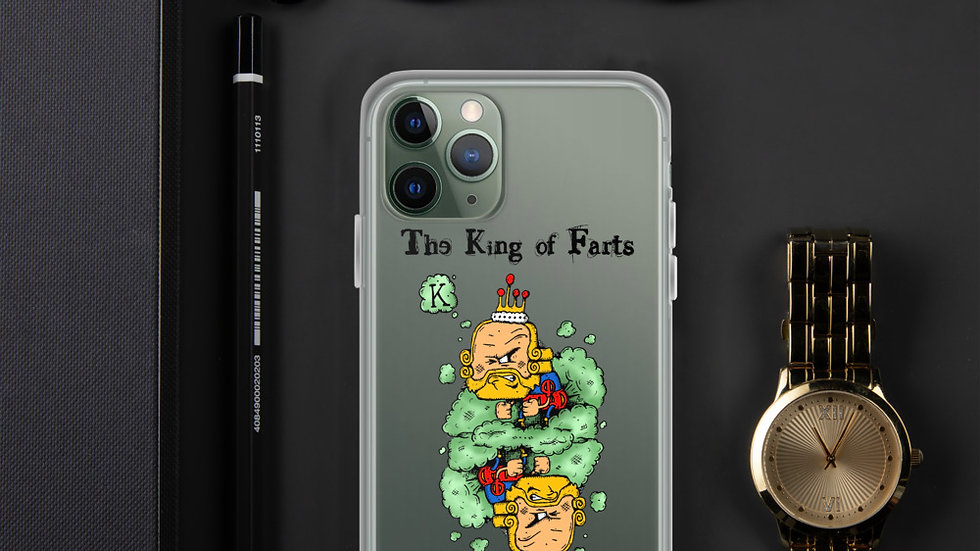 King of Farts iPhone Case