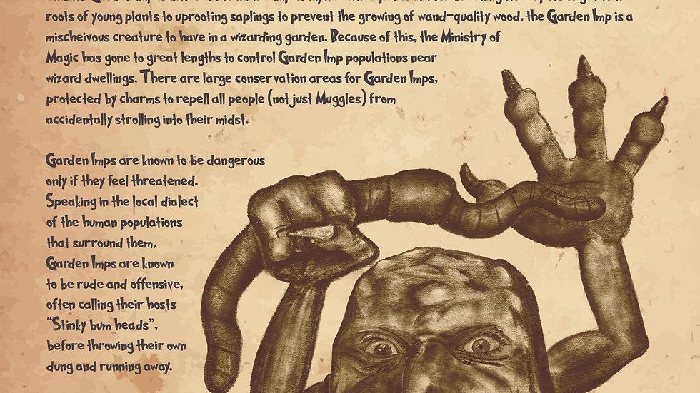 Garden Imp Poster
