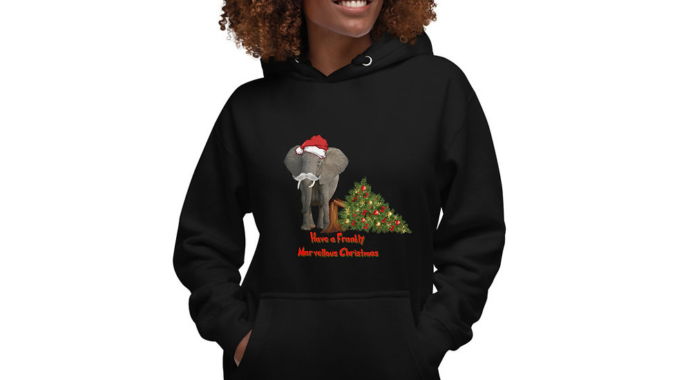 Frank Christmas Jumper hoodie - limited stock