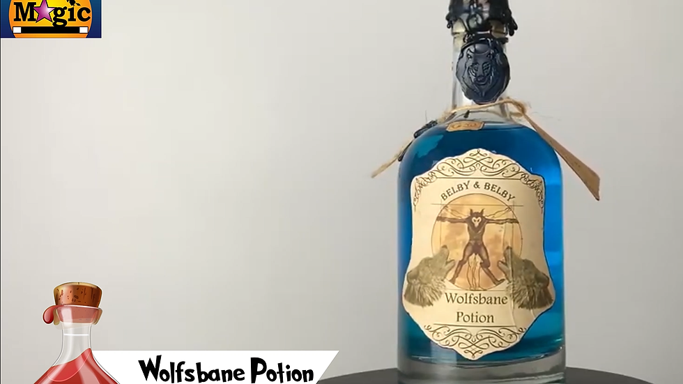 The Wolfsbane Potion from Harry Potter Replica for sale