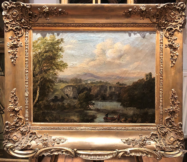 OIL PAINTING OLD MASTER WILLIAM HAVELL (1782- 1857) FINE 19th CENTURY BRITISH