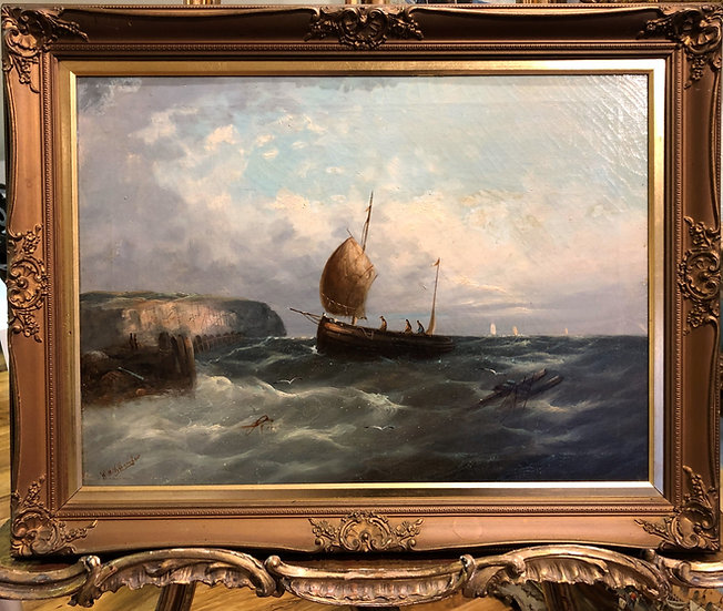 OLD MASTER OIL PAINTING BRITISH SCHOOL19th Century Gold Frame