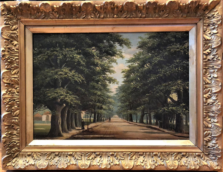 OLD OIL PAINTING By Henry Mckeown 19th Century PIECES IN SOUTHAMPTON MUSEUM
