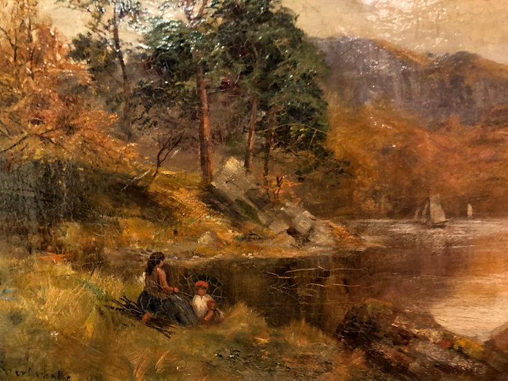 FINE ORIGINAL ARTIST  19th CENTURY BRITISH OLD MASTER OIL PAINTING