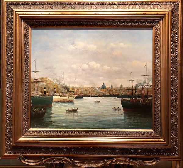 OIL PAINTING VENICE MASTER LARGE CIRCA 20TH CENTURY POSSIBLE RUSSIAN SCHOOL