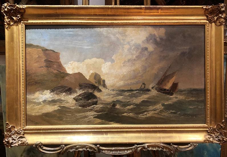 OIL PAINTING OLD MASTER ARTHUR MEADOWS (1843 - 1907) FINE 19th CENTURY BRITISH