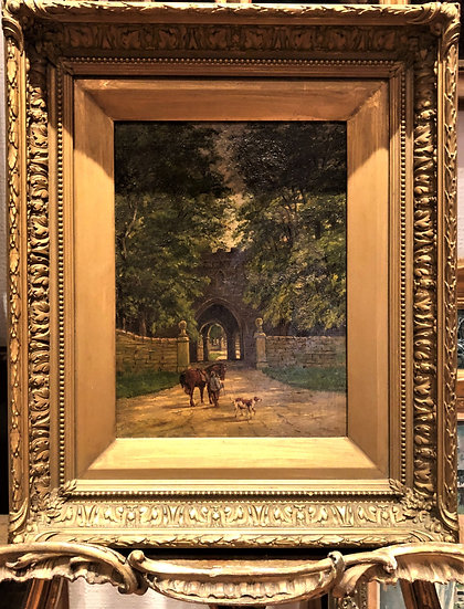 FINE OIL PAINTING By a Quality Artist ANTIQUE 19th CENTURY BRITISH OLD MASTER